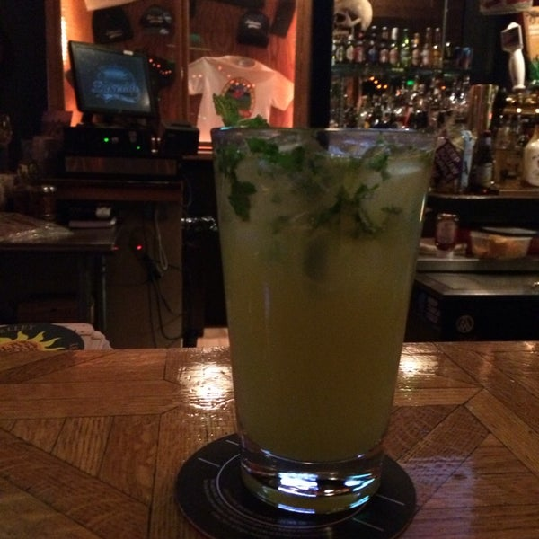 Ask Teresa for her specialty mint gin drink. It won't disappoint. :)