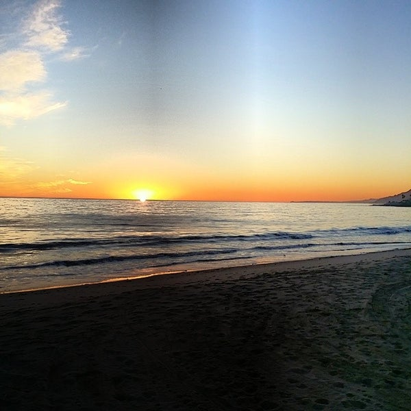 Photo taken at Pacific Palisades Beach by Michael R. on 12/1/2013