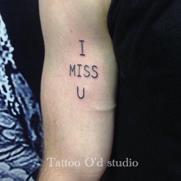 Photo taken at Tattoo O'd studio by Boho M. on 7/11/2015