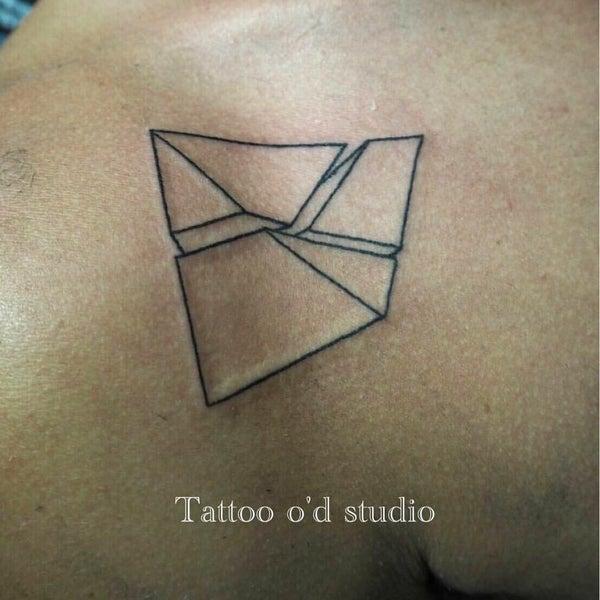 Photo taken at Tattoo O'd studio by Boho M. on 8/23/2016