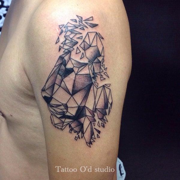 Photo taken at Tattoo O'd studio by Boho M. on 9/14/2015