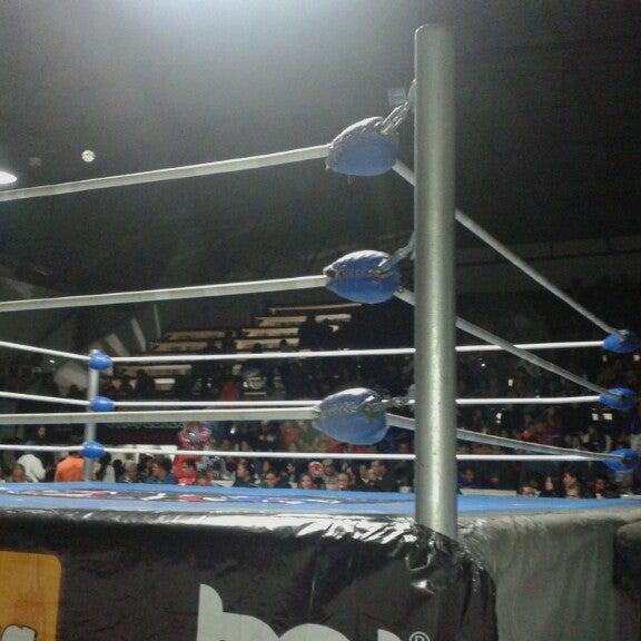 Photo taken at Arena Adolfo Lopez Mateos by Chelo r. on 2/1/2015