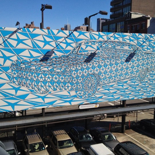 Photo taken at High Line 10th Ave Amphitheatre by Kunal G. on 10/13/2012