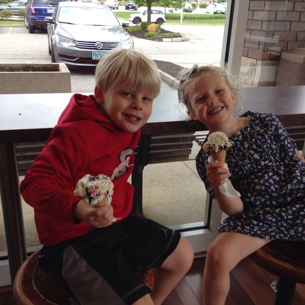 Photo taken at Mitchell's Ice Cream by Jessica B. on 5/23/2014