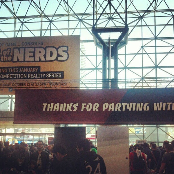 Photo taken at New York Comic Con 2012 by John F. on 10/14/2012
