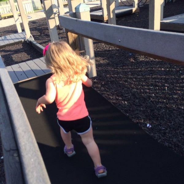 Photo taken at Annie's Playground by Travis G. on 6/22/2014