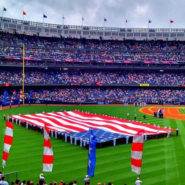 Photo taken at Yankee Stadium by Jeffrey P. on 7/13/2013
