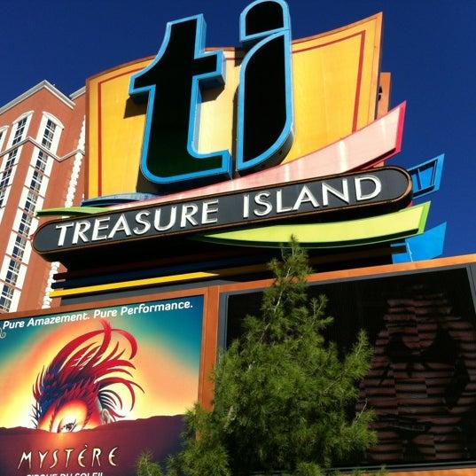 Photo taken at Treasure Island - TI Hotel & Casino by Christy S. on 11/20/2012