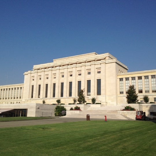 Photo taken at Palais des Nations by Saki on 7/27/2012
