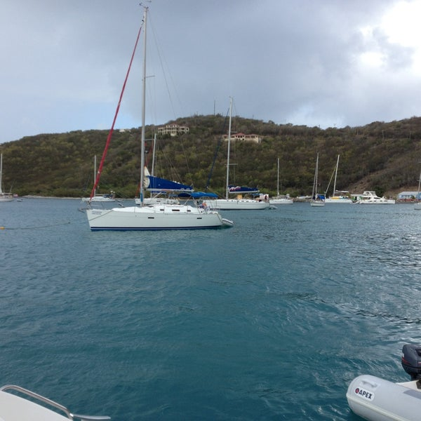 Photo taken at Jost Van Dyke Island by Teri M. on 4/12/2013