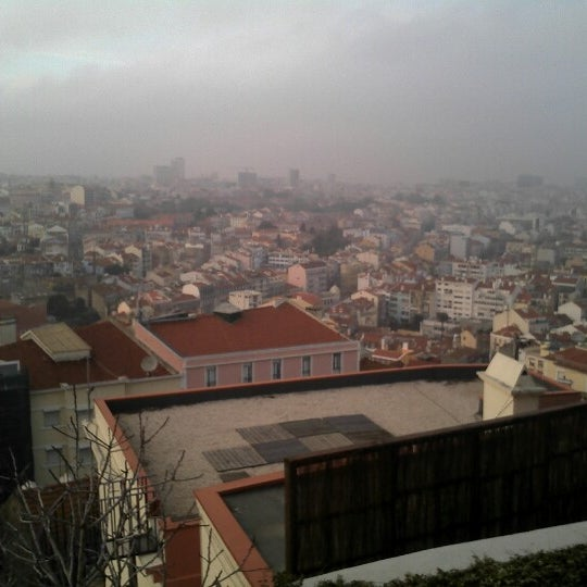 Photo taken at Miradouro da Graça by Yannick d. on 12/23/2012