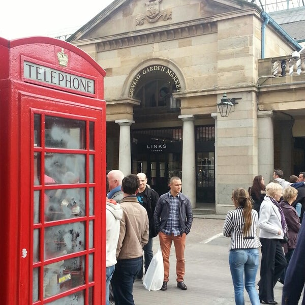 Photo taken at Covent Garden Market by Alparslan A. on 4/21/2013