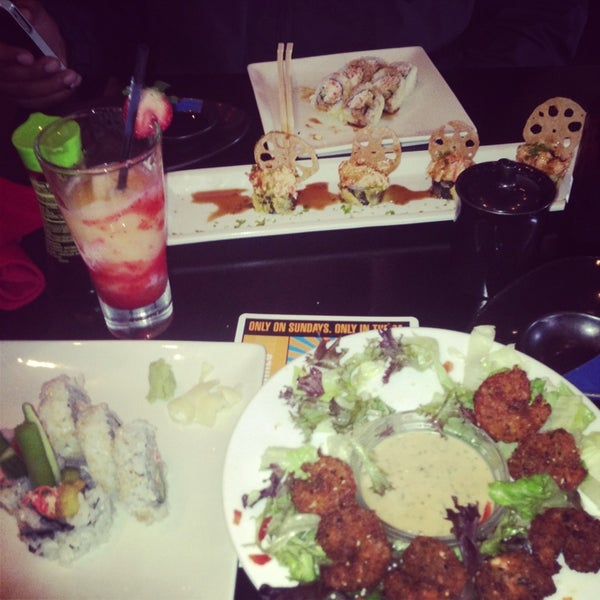 Photo taken at RA Sushi by Sunny N. on 6/16/2013