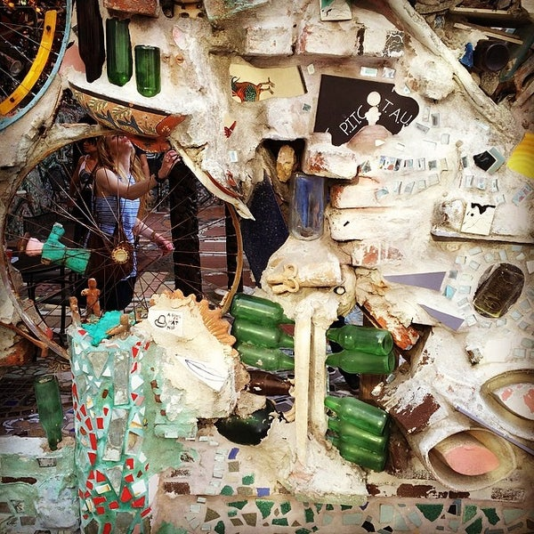 Photo taken at Philadelphia's Magic Gardens by Dan H. on 4/13/2014