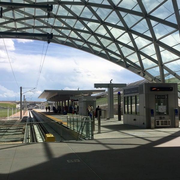 Denver International Airport: Denver Airport Station