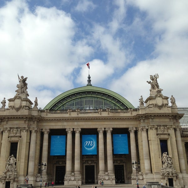 Photo taken at Grand Palais by Arnedo J. M. on 5/4/2013