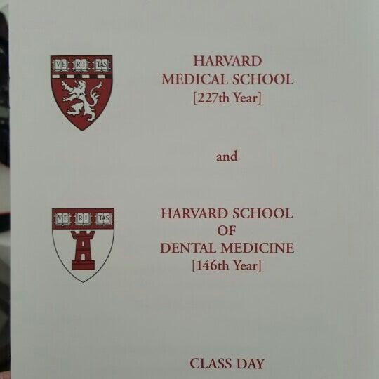 Photo taken at Harvard Medical School Quadrangle by Tireak T. on 5/28/2015