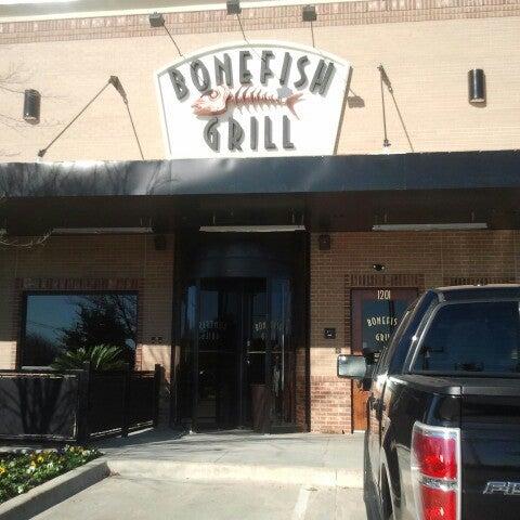 Bonefish grill seafood restaurant in southlake for Fish bone grill dallas