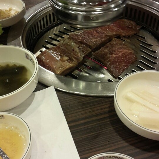 Photo taken at Daorae Korean BBQ Restaurant by Baltimora on 7/28/2014