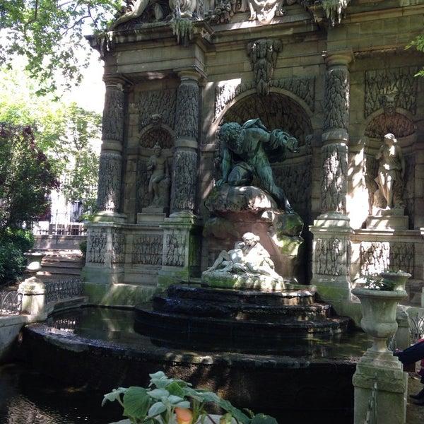 Fontaine m dicis od on paris le de france for Jardin du luxembourg hours