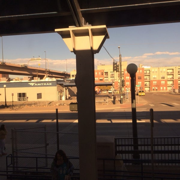 Photo taken at Denver Amtrak (DEN) by Nate A. on 11/10/2013