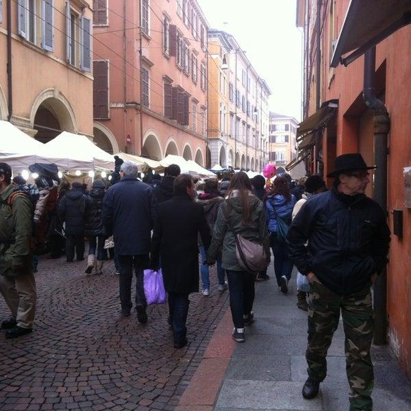 Photo taken at Via Emilia Centro by Paola P. on 1/31/2013