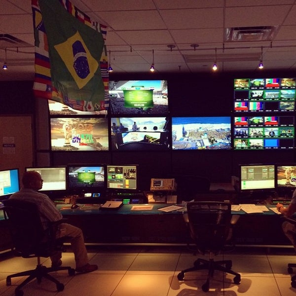 Photo taken at ESPN by Aaron L. on 6/12/2014