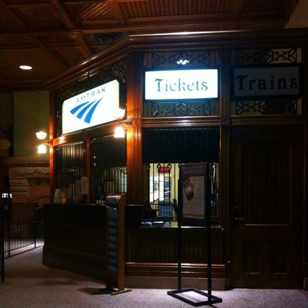 Photo taken at Kalamazoo Transportation Center - Amtrak (KAL) by Christopher R. on 10/23/2013