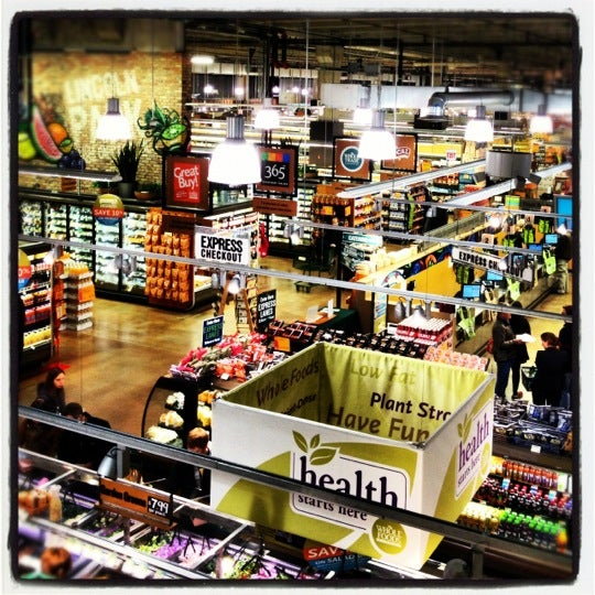 Photo taken at Whole Foods Market by Clotildes M. on 10/11/2012