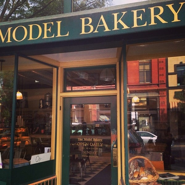 Photo taken at The Model Bakery by Ingrid C. on 8/8/2014