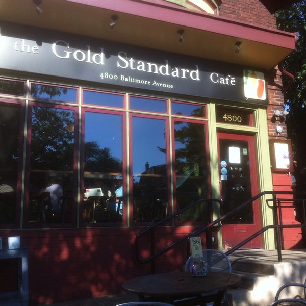 Photo taken at Gold Standard Cafe by David on 8/2/2013