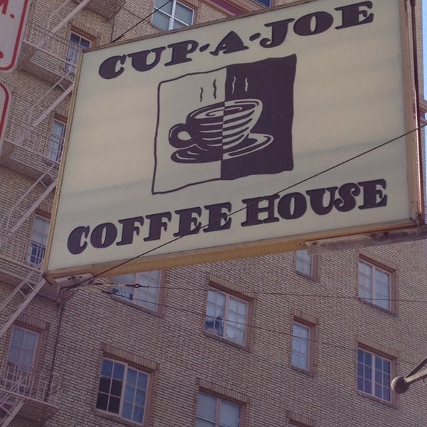 Photo taken at Cup-A-Joe Coffee House by Etsuko S. on 3/23/2014