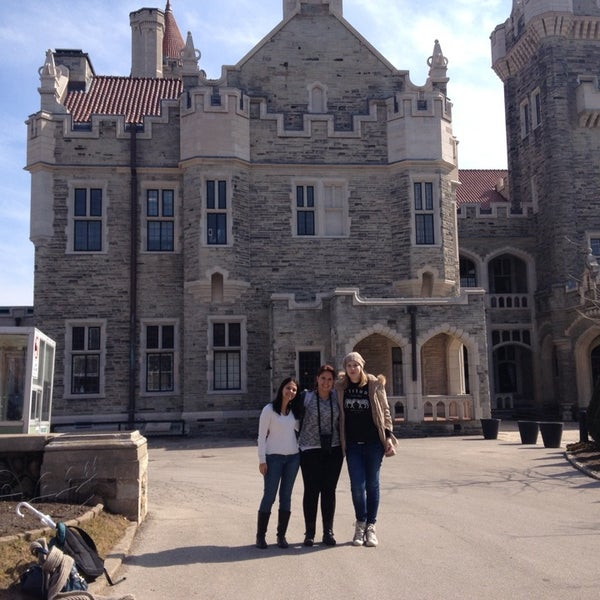 Photo taken at Casa Loma by Erika K. on 4/8/2014