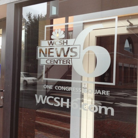 Photo taken at WCSH 6 by Tara M. on 11/13/2012