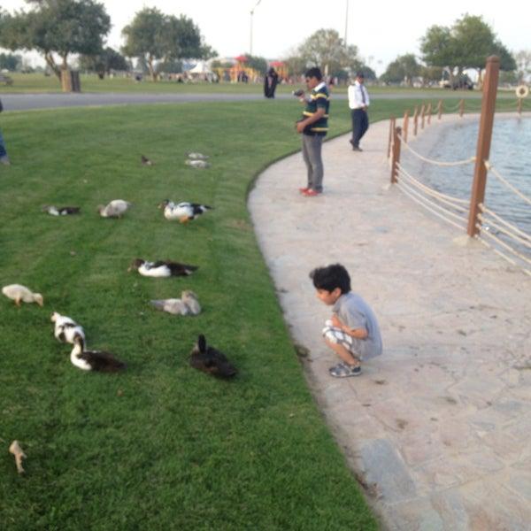 Photo taken at Aspire Park | حديقة اسباير by Ibrahim M. on 4/11/2013