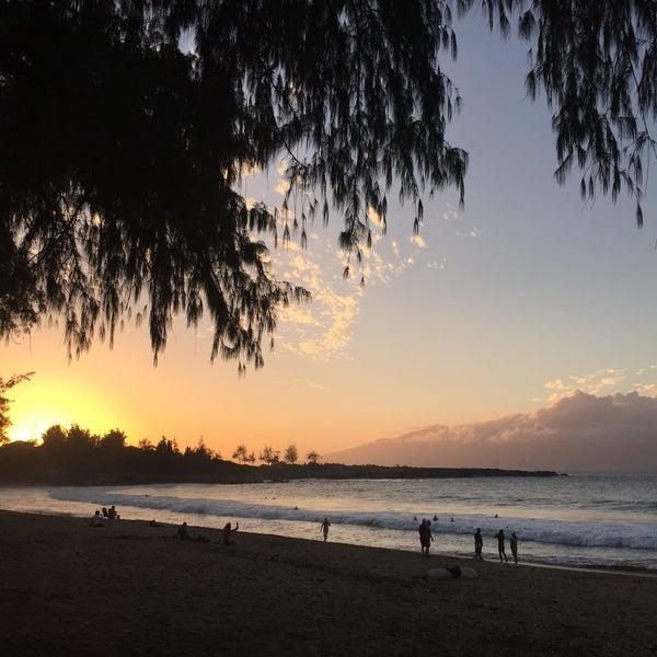 Photo taken at D.T. Fleming Beach Park by ALEX-A on 3/15/2016