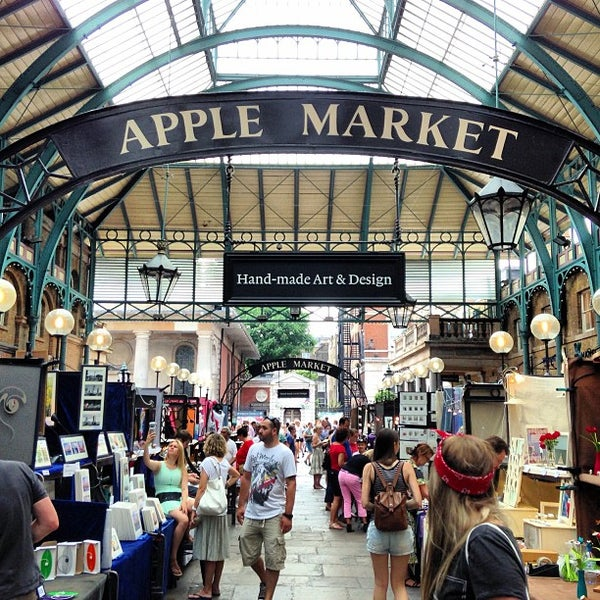 Photo taken at Covent Garden Market by Antonio P. on 7/17/2013