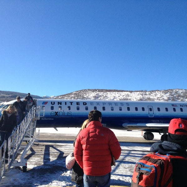 Photo taken at Aspen/Pitkin County Airport (ASE) by Paul F. on 1/3/2013