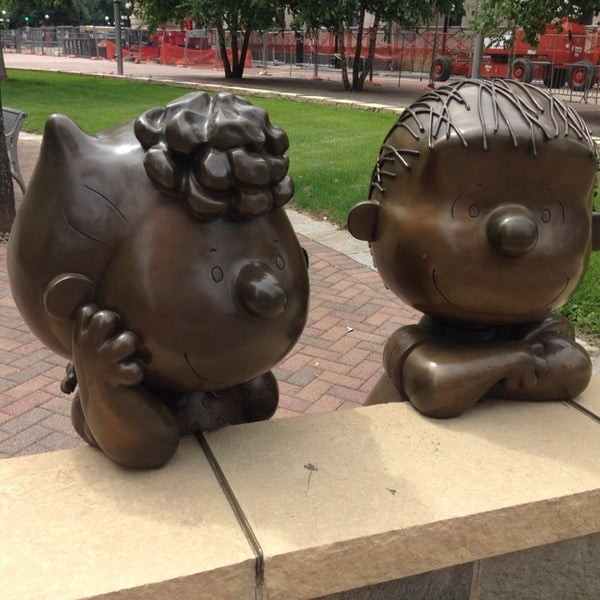 Spend some time with Peanuts characters.