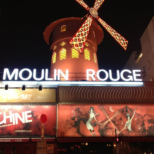 Photo taken at Moulin Rouge by Jennifer H. on 3/14/2014