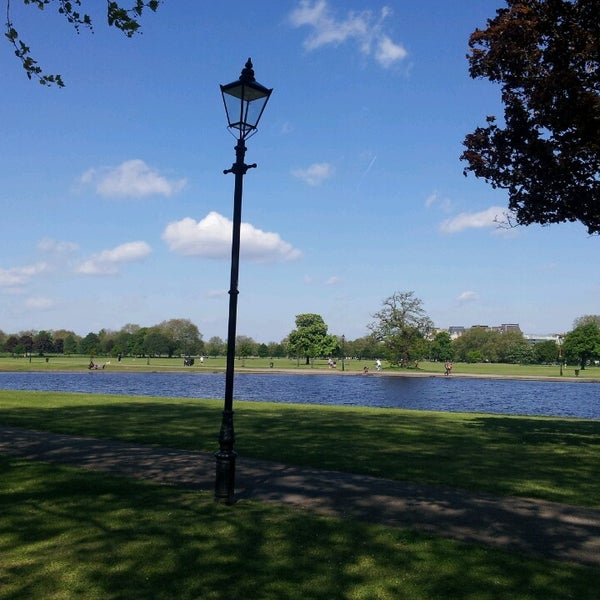 Photo taken at Clapham Common by Emma C. on 5/27/2013