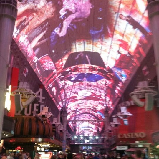 Photo taken at Downtown Las Vegas by Luciana S. on 3/19/2015