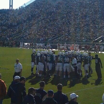 Photo taken at Beaver Stadium by Steve L. on 11/17/2012