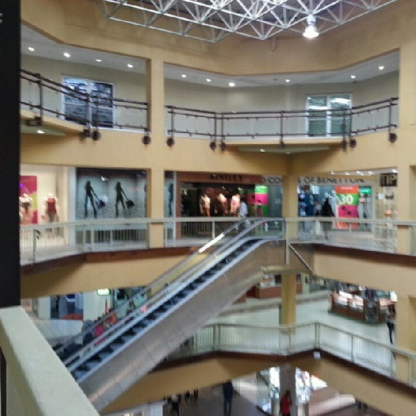 Long Circular Mall Food Court
