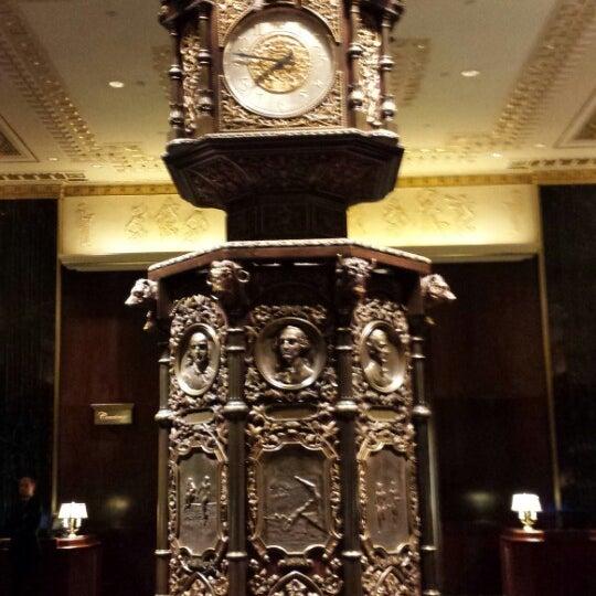 Photo taken at Waldorf Astoria New York by Mark on 6/4/2013