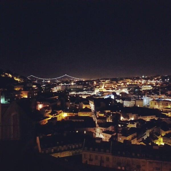 Photo taken at Miradouro da Graça by Telmo C. on 2/19/2013