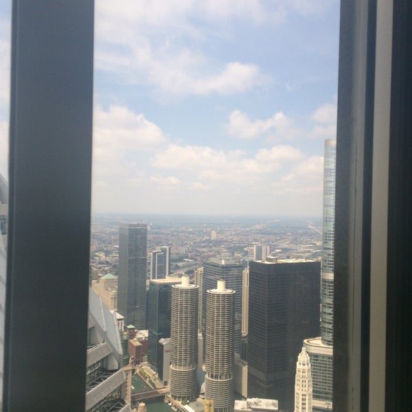 Photo taken at Aon Center by Dave R. on 7/25/2015