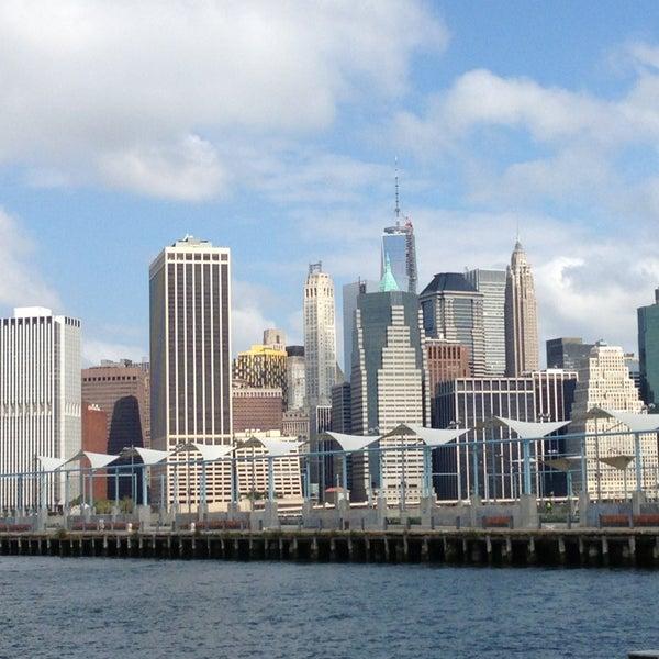 Photo taken at Brooklyn Bridge Park - Pier 6 by Tee on 8/27/2013