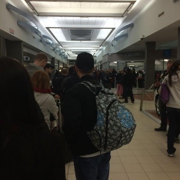 Photo taken at Saskatoon John G. Diefenbaker International Airport (YXE) by Robert P. on 5/5/2014