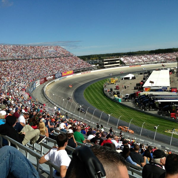 Photo taken at Dover International Speedway by Bryan N. on 9/29/2013